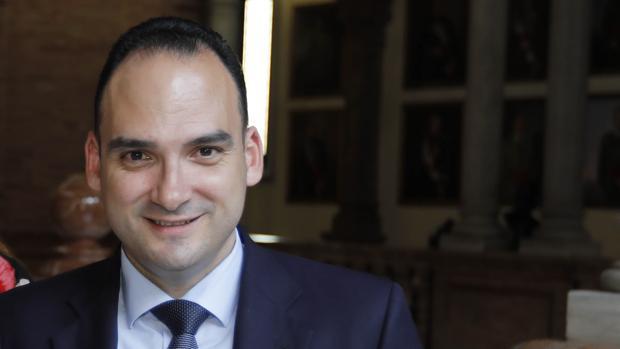 Rafael Belmonte, portavoz adjunto del PP en el Ayuntamiento de Sevilla