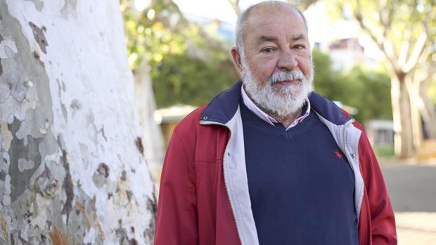 Guillermo Gutiérrez en la Alameda de Hércules