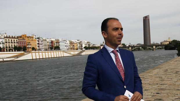 Javier Millán, delegado de Turismo en Sevilla