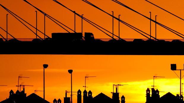 Vista panorámica del puente del Centenario