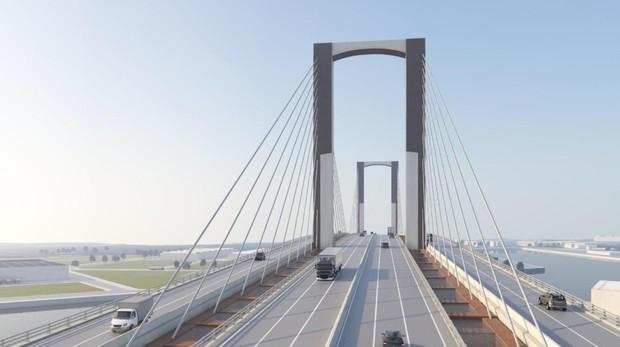 La obra de ampliación del puente del Centenario durará dos años y costará 112 millones de euros