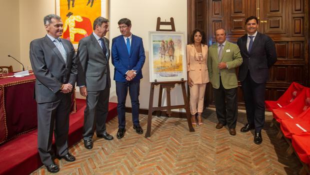 Presentación del cartel de las Carreras de Sanlúcar 2019 en la Real Maestranza de Sevilla