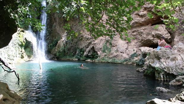 Panorámica de la rivera del río Huéznar