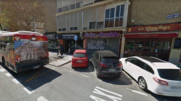 Imagen de la avenida Doctor Fedriani donde la víctima asegura que fue abordada por su expareja