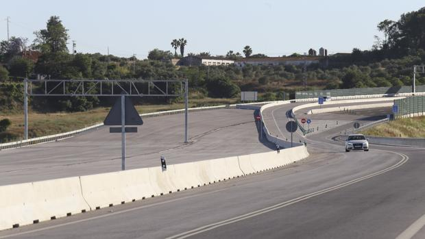 Tramo de la SE-40 en Sevilla
