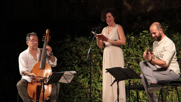 Una de las actuaciones en los Jardines del Alcázar