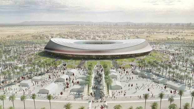 Diseño del estadio de Casablanca, con el que Marruecos quiere optar a un Mundial