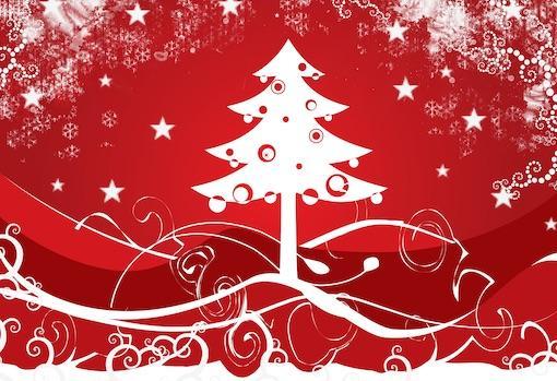 Diseño de árbol de Navidad para las fiestas