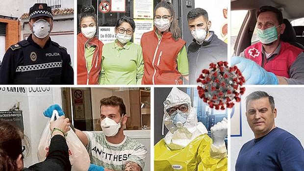 Los héroes sevillanos contra el coronavirus