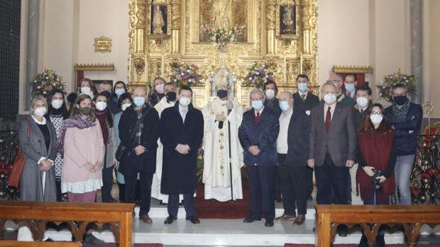 Monseñor Asenjo se despide de los periodistas de Sevilla