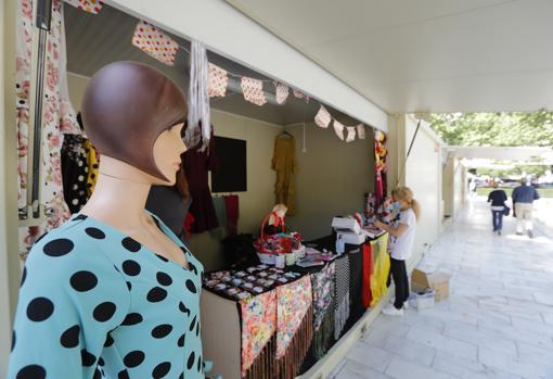 Mercadillo flamenco en la Plaza Nueva