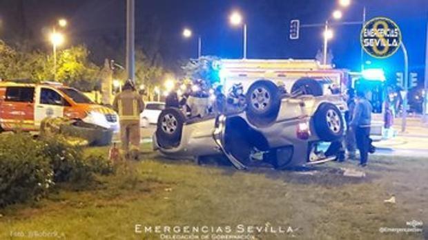 Así fue el accidente de la 'noche del pescaíto': supera el triple de la tasa de alcoholemia y vuelca su coche