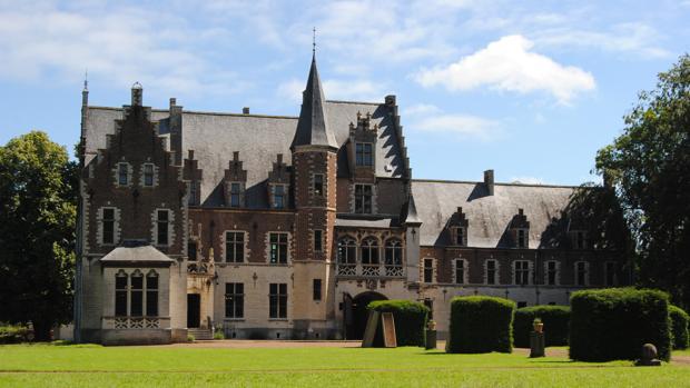 Castle Het Steen o Rubens Kasteel, en Elewjit, cerca de Bruselas