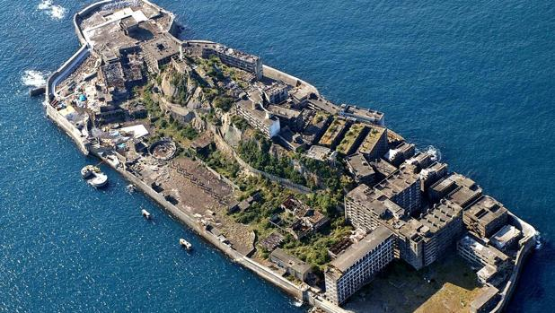 Isla Hashima, Nagasaki (Japón)